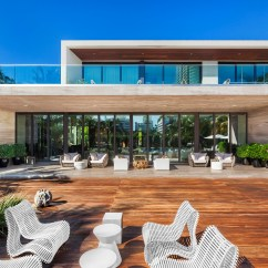 Pine Kitchen Table Backsplash Marble Beautiful Miami Beach Contemporary Asks $23m - Curbed