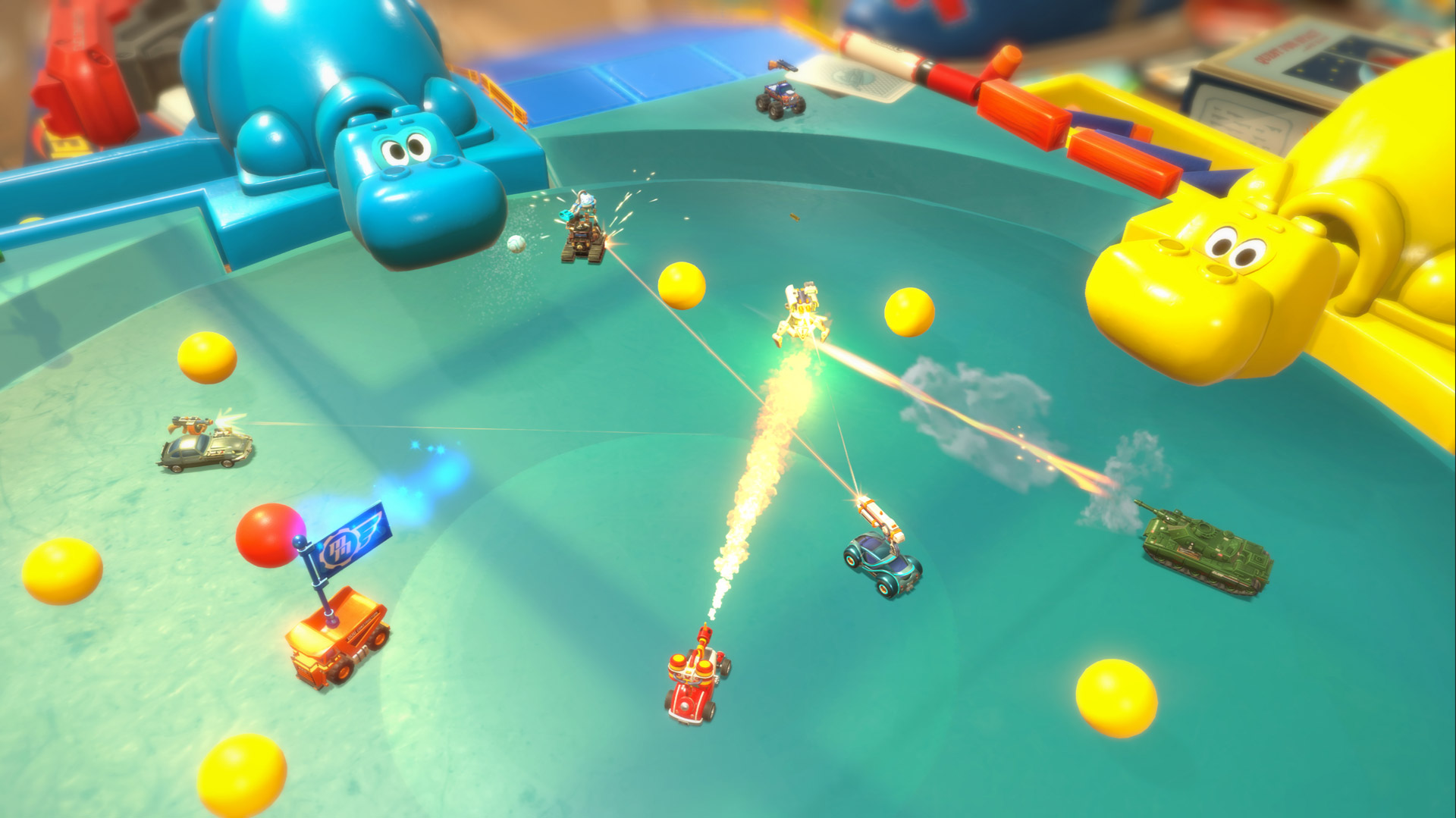 New Micro Machines game brings vehicular deathmatch to
