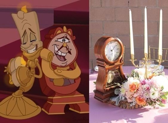 9 Centerpieces For Disney Themed Wedding Wedding