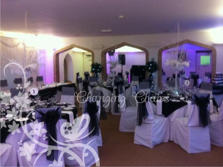 wedding chair covers tamworth bedroom fluffy changing chairs newstead abbey pictures cover hire black and white 4 80889 jpg