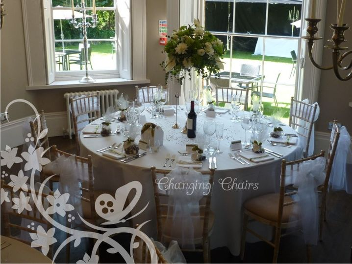 chair cover hire tamworth childrens table and sets plastic changing chairs ribbons only uk