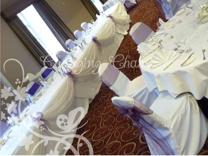 wedding chair covers melton mowbray evenflo easy fold high changing chairs wishing well post box cover hire