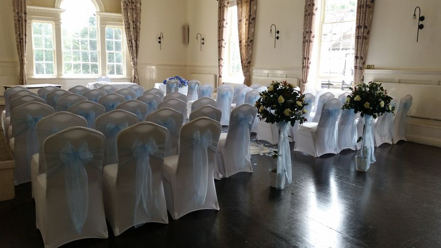 chair covers and sash hire hertfordshire replacement sororio amore events flower cube centrepiece cover