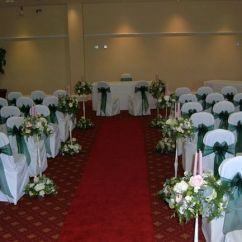 Chair Covers For Weddings Shropshire Armchairs Accent Chairs Emerald Green Organza Sash From Quality Photo 13