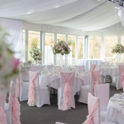 Wedding Chair Cover Hire Pembrokeshire Covers For Reclining Loveseat Pink Ruffle Hood From Ellis Events Bespoke And Venue Styling