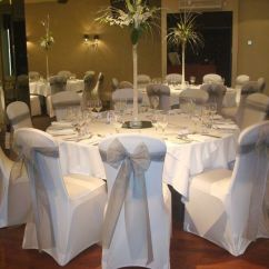 Chair Cover Hire Sunderland Fishing Dublin Infinity Event Styling Centerpieces For Wedding Tables
