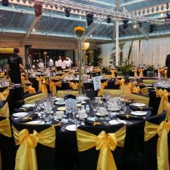 Chair Cover Hire Inverclyde White Wedding Covers Cheap Gold Sashes Black From Rent Event Photo 8