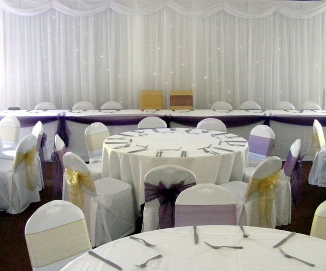 chair cover hire melton mowbray french bistro table and chairs outdoor elegance covers perfect sashes backdrop