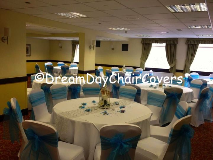 wedding chair cover hire cannock cafe style wooden chairs dream day covers great barr hotel birmingham