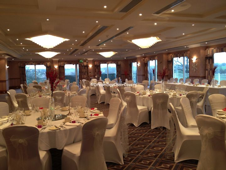 wedding chair cover hire cannock red club dream day covers