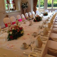 Wedding Chair Covers Burton On Trent Clear Dining Room Chairs Dragontail Events Stand Tutbury Castle With Coordinating