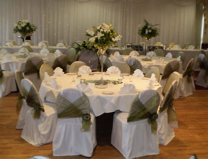 chair covers for weddings shropshire diy kids bagden hall table decorations from unique wedding flowers