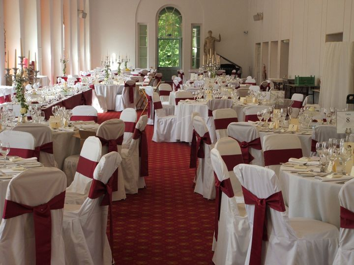 wedding chair covers swansea microfiber and a half sashes margam from decorators photo 3