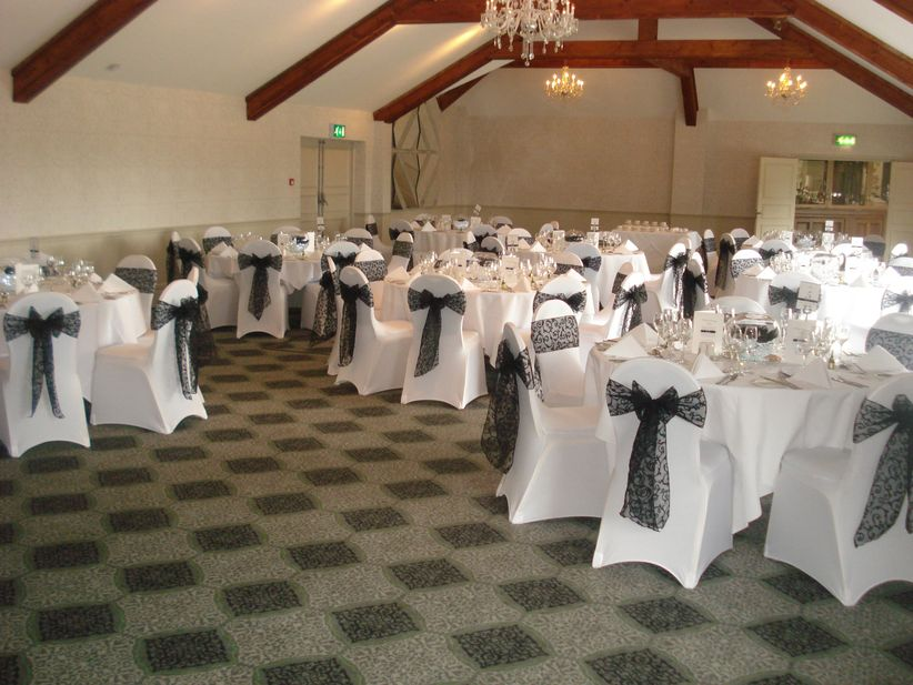 wedding chair cover hire scarborough folding rentals nj 13 styles you need to know banquet round back by hevs creations