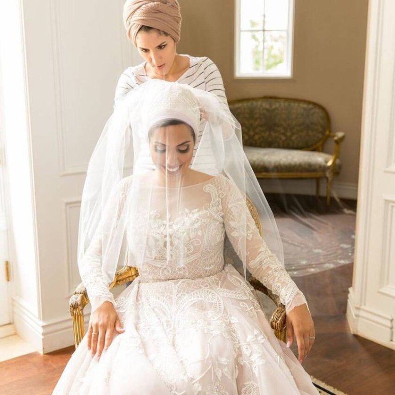 Hijab Couture Bridal