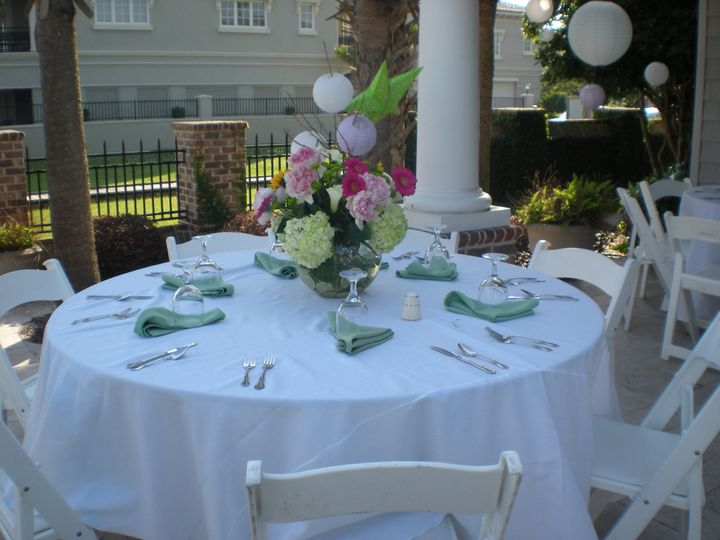 chair cover rentals florence sc bamboo director s chairs uk conway party event weddingwire weddin