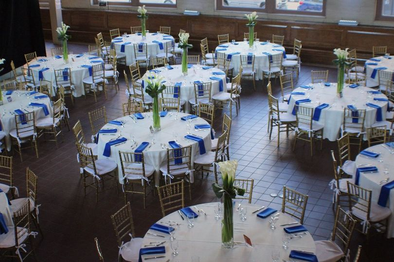 chair cover rentals hartford ct revolving steel base bear s restaurant group venue weddingwire corporate product launch table arrangement
