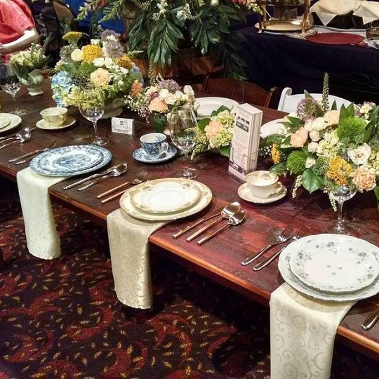 table and chair rentals in delaware positive posture lift bk event milford de weddingwire string lights sample set up