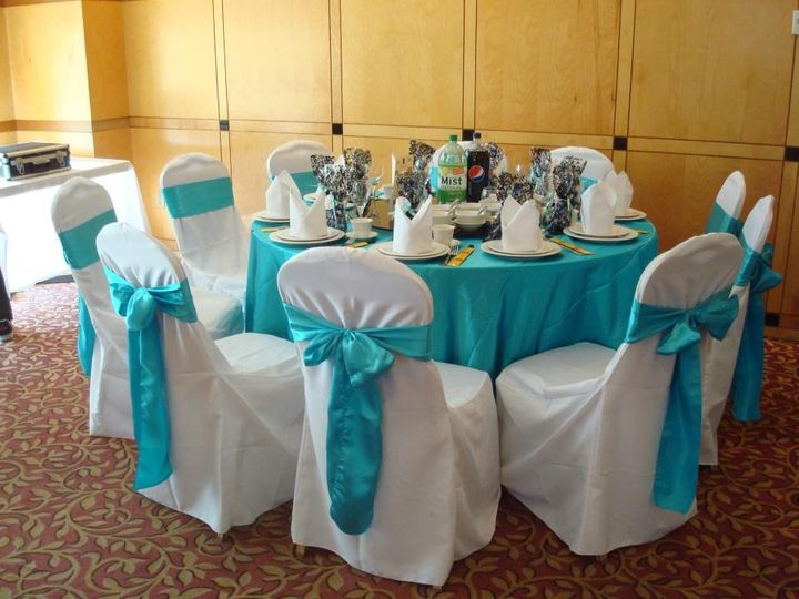 teal chair covers fishing high elegant wedding event rentals portland or 1