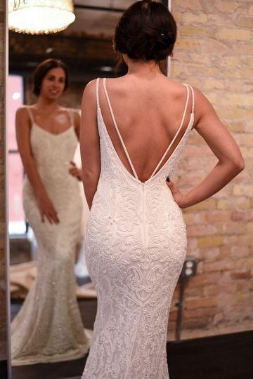 white dress off the rack dress
