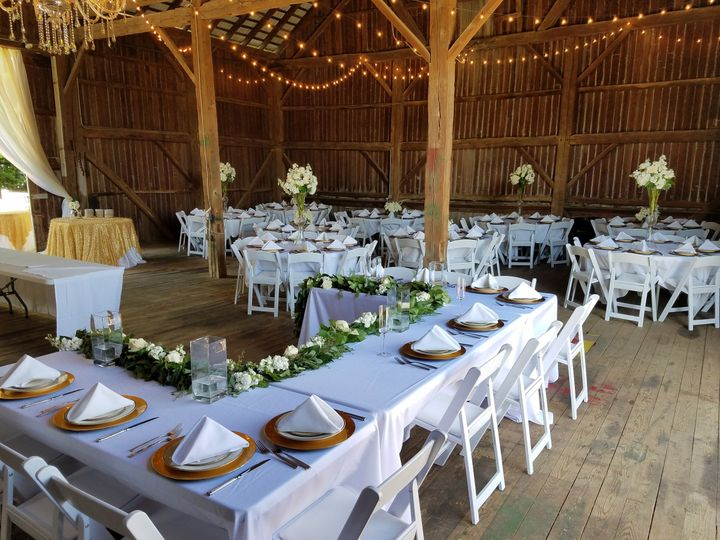 chair cover rentals findlay ohio office support for pregnancy scarlet oaks estate venue oh weddingwire barn reception