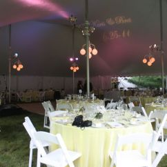 Chair Cover Rentals Hartford Ct Target Mat Taylor Rental Party Plus Event Orange Weddingwire Interior Of 60 X 70 Century Pole Tent With Extensive Colored Uplighting