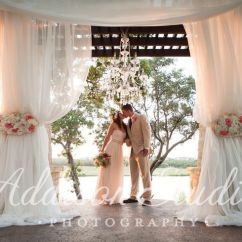 Avery's Chair Covers And More Star Trek Captains Avery Ranch Golf Club Venue Austin Tx Weddingwire The Newlyweds
