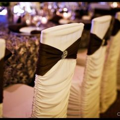 Wedding Chair Covers Rentals Seattle Director Brisbane Swank Event Wa Weddingwire Name Plate On Black And White Cover