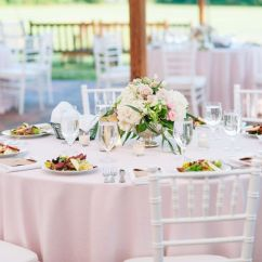 Chair Cover Rentals Baltimore Md Eastern Butcher Block Table And Chairs Shore Tents Events Event Chestertown White Plate Napkin Soft Pink Setup