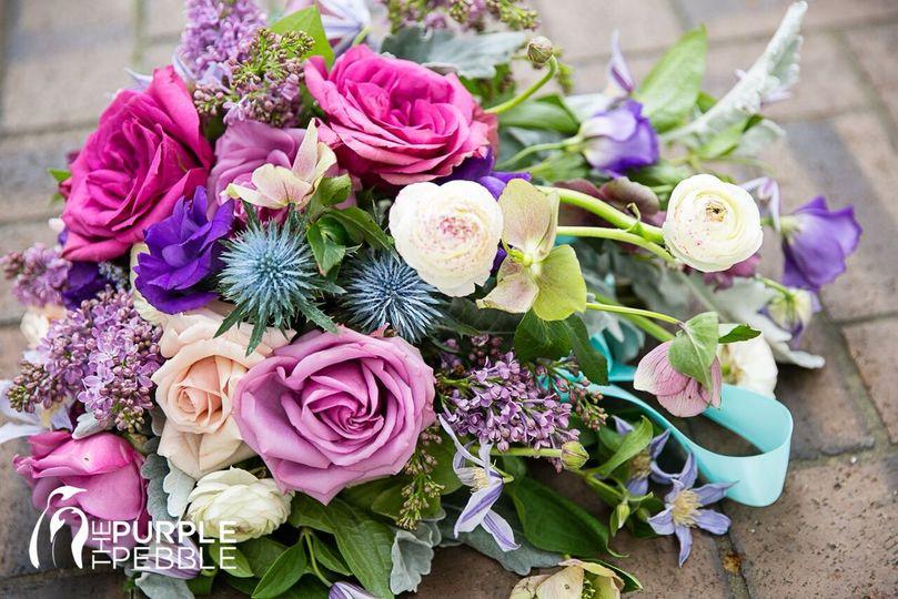 the blooming bride flowers