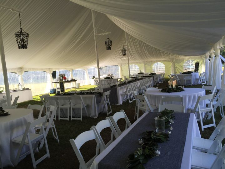 chair cover rentals florence sc spool ethan allen complete rental event weddingwire drinks table long