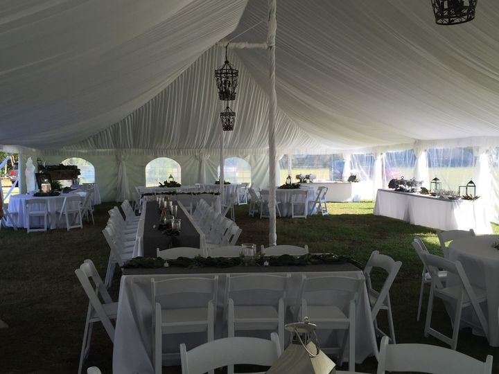 chair cover rentals florence sc big and tall outdoor rocking chairs complete rental event weddingwire table arrangement tables