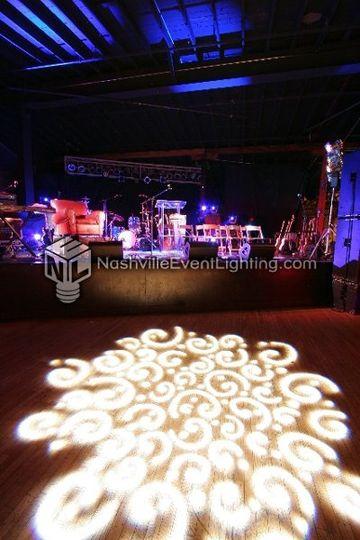 nashville event lighting event