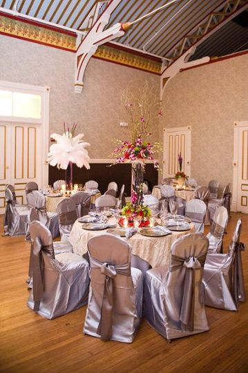 chair cover rentals macon ga round dining table with 6 chairs brilliant linens event weddingwire armory11