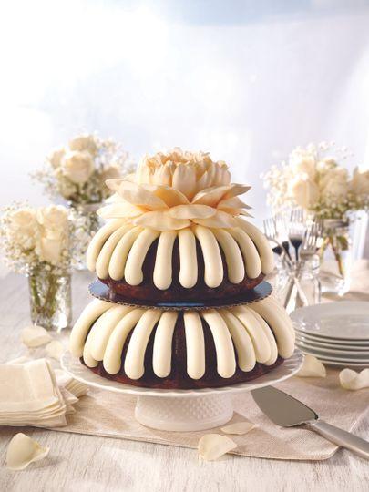 Nothing Bundt Cakes Wedding Cake Gaithersburg Md Weddingwire