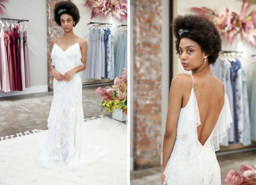 15 Backless Wedding Dresses for the Bride Who Dares to Bare