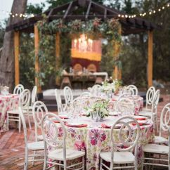 Wedding Decorations Chairs Receptions Chair Design Architects 13 Types Of For A Stylish Big Day Weddingwire White Infinity Outdoor Reception