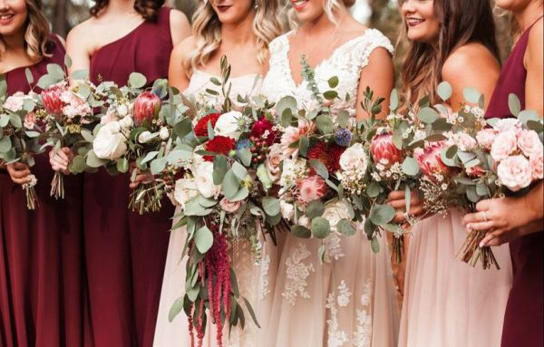27 Red Wedding Theme Ideas to Steal for a Bold Color Palette WeddingWire