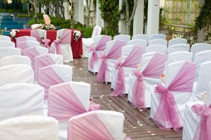 how to make chair sashes sure fit covers target keep organza from slipping down plastic chairs 3