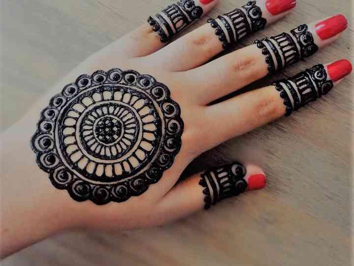 Simple Finger Mehndi Designs To Get A Minimalistic Yet Beautiful Bridal Mehndi