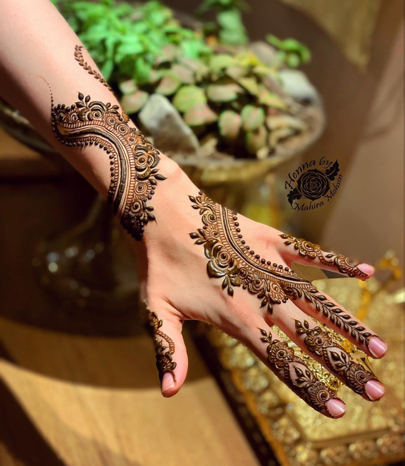 20 Stunning Yet Simple Arabic Mehndi Designs For Left Hand To Your Rescue When You Need To Be On The Move