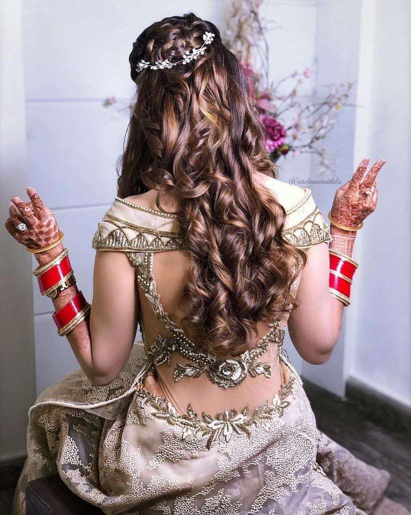 6 Revamped Indian Wedding Hairstyles for the Desi Girl