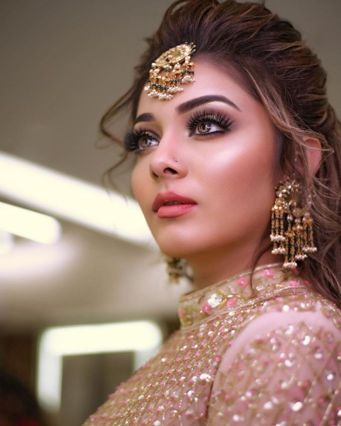 the only guide you need on bridal makeup and hairstyle to