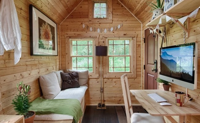 16 Tiny House Interiors You Wish You Could Live In