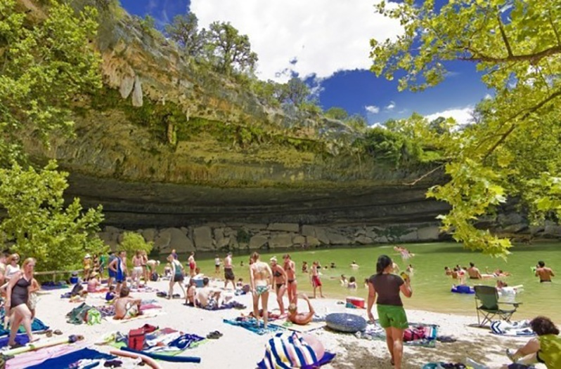 15 of the Best Swimming Holes in the Texas Hill Country