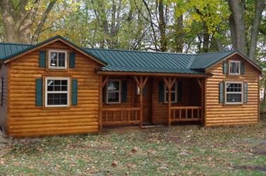 cabin amish kit cabins build