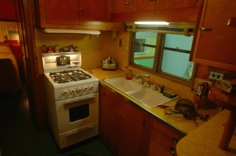 Rare 50s Camper Has an Untouched Interior That Will Take
