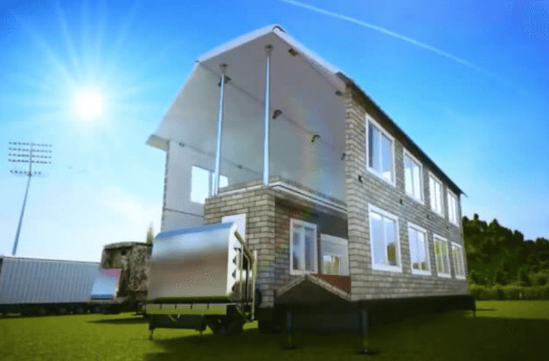 This Amazing Mobile Home Transforms into a FillSize House