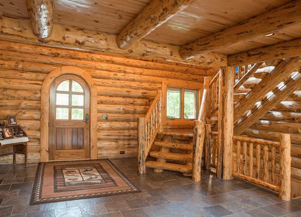 Take a Look Inside this Palatial AmishBuilt Log Cabin