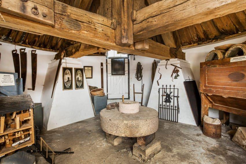 Peek Inside This Stunning Propertys Functioning 1665 Windmill
